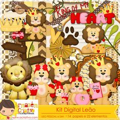a venda - kit digital leão http://acriativo.com/loja/index.php?main_page=product_info&cPath=34&products_id=797