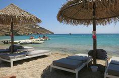 Mykonos super paradise beach Mykonos, Super Paradise Beach, Paradise Found, Paros, Eurotrip, Greek Islands, West Coast, Places Ive Been, Greece
