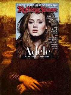 雑誌の表紙とクラシック絵画をマッシュアップしたアート作品 - K'conf