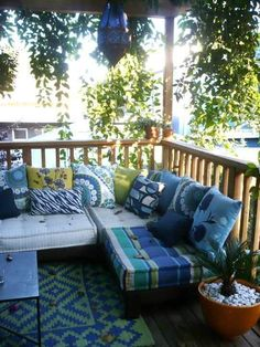 My Great Outdoors: Rachel's Entertaining Space | Apartment Therapy