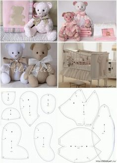 Patchwork patterns ideas teddy bears 43 ideas Patchwork patterns ideas teddy bears 43 ideasYou can find Teddy bear patterns and mo. Crochet Rug Patterns, Animal Sewing Patterns, Patchwork Patterns, Sewing Patterns Free, Doll Patterns, Free Pattern, Diy Teddy Bear, Bear Toy, Teddy Bears
