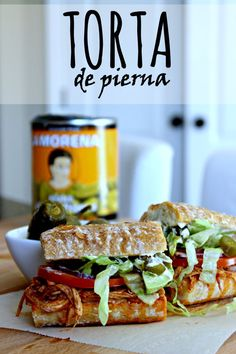 Aprende a preparar esta deliciosa Torta de Pierna tal como lo hacen en México #VivaLaMorena  [ad]