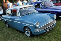 Ford Anglia 105e Ford Anglia, Old Fords, Funny Cars, Automotive Art, First Car, Ford Motor Company, Car Humor, Custom Cars, Cars And Motorcycles
