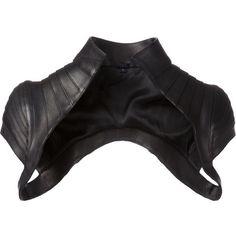 See this and similar Majesty Black jackets - Black leather standing collar bolero from Majesty Black. Dark Fashion, Gothic Fashion, Bolero Jacket, Vest Jacket, Future Fashion, Grunge Style, Character Outfits, Mode Inspiration, Mode Style