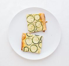 Zucchini Tart with Puff Pastry, Feta/Ricotta/LemonJuice/Egg - 350 degree