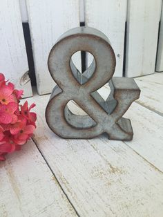 Ampersand Wall Decor ampersand sign; typography art; typography decor; and sign