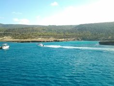 Blue lagoon Akamas Cyprus