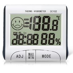 Mini Digital Thermometer Humidity Meter Room Indoor LCD Temperature Hygrometer