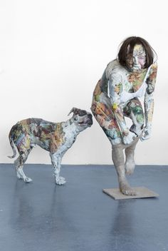 Amazing sculptures made out of garbage!