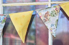 DIY Winnie the Pooh Fabric Banner