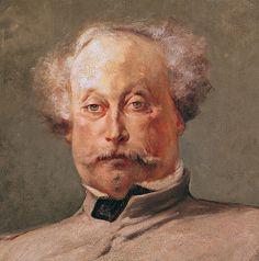 Alexandre Dumas fils (1824-95) (oil on canvas), Clairin, Georges (1843-1919)