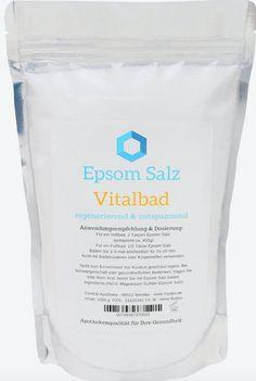 Epsom Salz Vitalbad, um 10 Euro