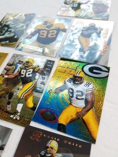 Reggie White Green bay packers football card lot