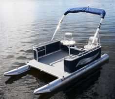 mini pontoon boat - Google Search
