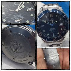 Omega Seamaster Professional Chronometer 007 - 40 th Anniversary of James Bond -