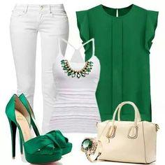 Color verde esmeralda #like