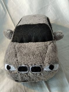 We just made it. Handmade silver plush BMW E46 for You, from the Hungarian Bear Forces. Visit us on our facebook site!