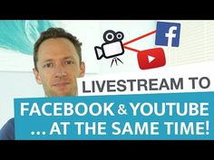 How to Livestream to Facebook and Youtube… AT THE SAME TIME! #livestream #facebook #youtube