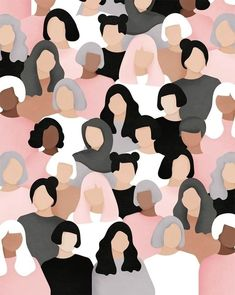 Women Who Draw - Women's March 2017 Illustration realisiert mit dem . - Women Who Draw – Women's March 2017 Illustration realisiert mit dem … – - Buch Design, Design Art, Woman Illustration, Forest Illustration, Pattern Illustration, Watercolor Illustration, Robot Illustration, Illustration Fashion, Portrait Illustration