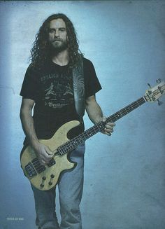 Justin Chancellor - Bassist for Tool (Since & Peach – Power Rangers, Dbz, Transformers, Justin Chancellor, Victor Wooten, Tool Music, Music Icon, Maynard James Keenan, Tool Band