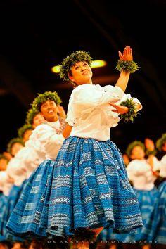 Hula hemolele; flawless dance.  Merrie Monarch, 2017 Photo: Kaho'olemana Naone