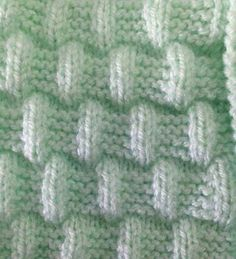 Ideas Crochet Dishcloth Diagram Free Knitting For 2019 Knitting Stiches, Knitting Patterns Free, Free Knitting, Baby Knitting, Stitch Patterns, Easy Knit Baby Blanket, Knitted Baby Blankets, Lidia Crochet Tricot, Knit Crochet