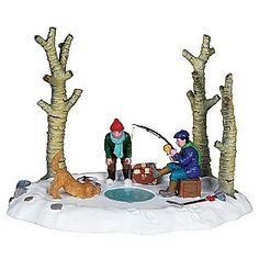 """""""I've Got One"""" Lemax Christmas Village accessory"""