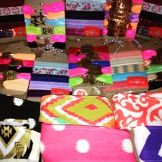 Tons of New headbands and bracelets!