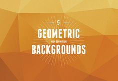 Here is a pack including 5 JPG geometric high resolution backgrounds (2500×2500 px) and the original AI file. A freebie released by Michael ...