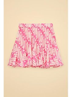 RHODE Hilary Skirt | Pink Batik | Official Site
