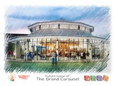 Future Home of The Grand Carouselp at the Children's Museum of Memphis