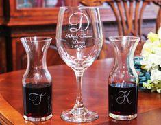 Personalized Engraved Wine Ceremony Set Wedding Keepsake Unity