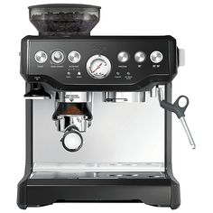 Buy Sage by Heston Blumenthal Barista Express Bean-to-Cup Coffee Machine, Stainless Steel / Black Online at johnlewis.com