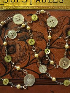 Handmade necklace on etsy.  Great Christmas gift!