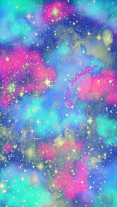 Summer nights Galaxy iPhone/Android wallpaper I created for the app CocoPPa!