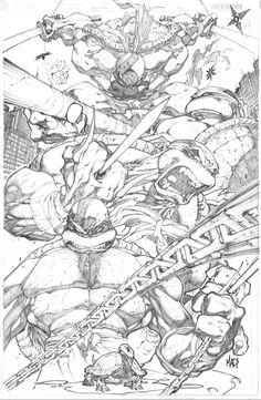 Teenage Mutant Ninja Turtles by Joe Madureira *