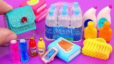 14 adorable DIY miniatures for Barbie: DIY Barbie bathroom sink, miniature soap, miniature mascara, DIY miniature books DIY miniature dollhouse bathroom . Barbie Dolls Diy, Diy Barbie Clothes, Barbie Doll House, Barbie Stuff, Barbie Dream House, Miniatures Barbie, Barbie Diorama, Accessoires Barbie, Diy Accessoires