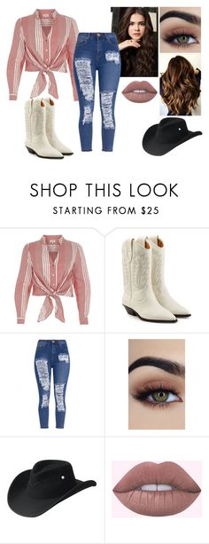 """."" by breemcguire on Polyvore featuring River Island, Étoile Isabel Marant, Bailey Western and GURU"