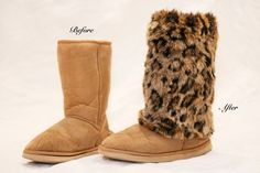 Amazing Fur boot covers!
