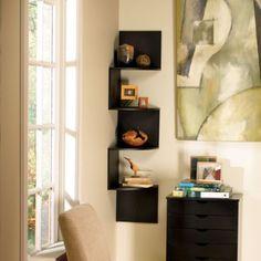 Hanging Corner Shelves