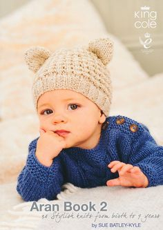 Aran Book 2 by King Cole | King Cole Knitting Books | Knitting Magazines & Books | Deramores