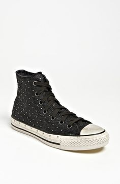 Converse by John Varvatos 'All Star® Hi Studded' Sneaker (Women) available at #Nordstrom