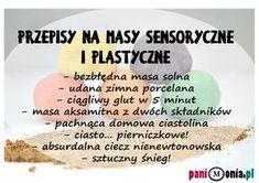 Masy sensoryczne i plastyczne - przepisy