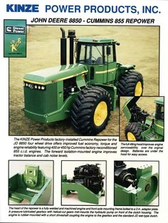 JOHN DEERE 8850 KINZE Repower Ad