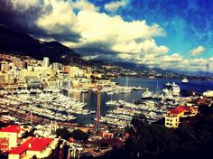 One of the many spots to enjoy the spectacular views of Monaco!