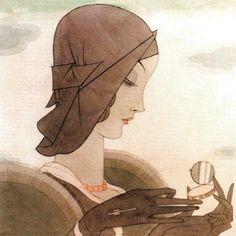Alberto Vargas 1920's illustration