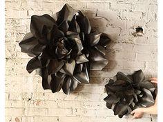 Metal Flowers from Kalalou