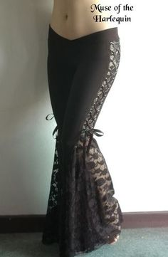 Lace Tribal Belly Dance pants.