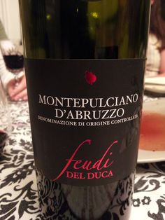 A glass of Montepulciano goes great with any pasta - or dessert! #wine #Italian