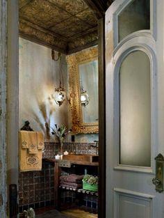 Gerry's loft bathroom, New York, NY by Elvis Restaino